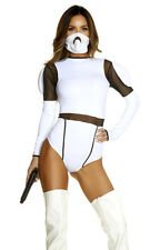 Such A Trooper Sexy Movie Character Costume Bodysuit Star Wars Storm Cosplay NEW