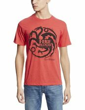 """Game Of Thrones TARGARYEN SIGIL FIRE AND BLOOD """"DRAGON"""" T-Shirt Tee NWT Licensed"""