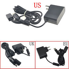 AC Power Supply Charging Adapter USB Cable for XBOX 360 XBOX360 Kinect Sensor