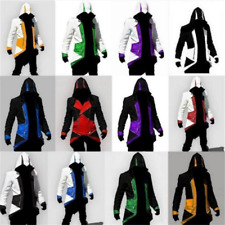 Men's Cosplay Costumes Assassins Creed 3 III Connor Kenway Hoodie Jacket Coat AU