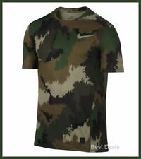 Nike Mens $50 PRO COMBAT Hypercool FITTED Training Shirt S/M/XL BRAND NEW