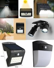 Outdoor 16 LED Solar Power Motion/Light Sensor Wall Garden Lamp Energy Saving GA