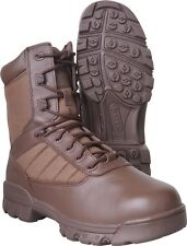 Bates Brown Tactical Patrol Military Security Sport 8 Inch Boots BBE02221