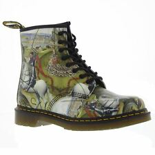 Dr.Martens 1460 8-Eyelet George and Dragon Backhand Multi Womens - Mens Boots