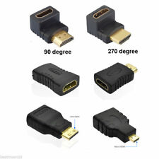 Micro HDMI Male D to HDMI Female A Jack Adapter Cable Converter Connector 1080P