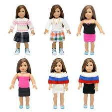 Knitted Sweater Clothes Set for 18inch American Girl Our Generation Dolls Outfit