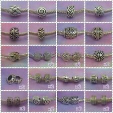 ~ Antique Silver Charms/Spacer Beads ~ FOR CHARM BRACELETS ~ 99p Each ~Gift Bag~