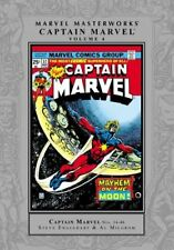 MARVEL MASTERWORKS CAPTAIN MARVEL VOLUME 4 MARVEL MASTERWORKS - Hardcover *NEW*