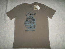LUCKY BRAND T-SHIRT MENS FORD SIZE M SHORT SLEEVE CREWNECK NEW WITH TAGS