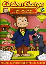 Curious George: Leads the Band and Other Musical Mayhem (DVD Used Like New)