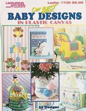 OUR BEST BABY DESIGNS IN PLASTIC CANVAS 33 DESIGNS By Leisure Arts **Excellent**