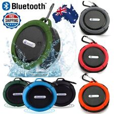 Portable Waterproof Wireless Car Bluetooth Shower Music Stereo Speaker with Hook