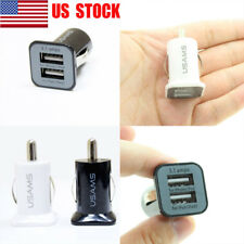 2-Ports Mini Dual USB Car Charger 2.1A Adapter For Cigarette Lighter Socket USA