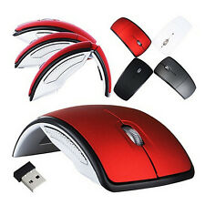 Optical 2.4G Foldable Wireless Mouse Cordless Mice USB Folding Mouse Receiver BH