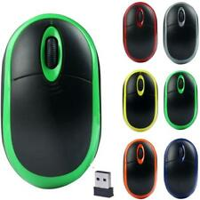 Portable 2.4GHz Wireless Optical 3D Buttons Mice Receiver Game Mouse Pro Gamer