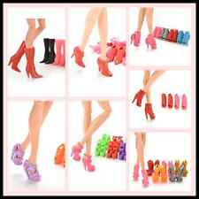 Multiple Choice Mix Shoes Boots for Barbie Doll Girls Play House Gift BH