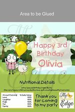 Sarah and Duck Chocolate Bar Wrappers - Digital File Only
