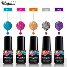 Maphie 78 Colors Shiny Glitter UV Nail Gel Polish Neon Color Sequins UV Gel Led