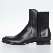 MAISON MARTIN MARGIELA MM22 New Men Black Leather Ankle Boots