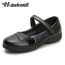 Hawkwell Girl black Mary Jane school shoes uniform students footwear girls heart
