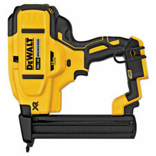 New Dewalt 20 Volt MAX XR 18 Gauge Narrow Crown Stapler Tool Only # DCN681
