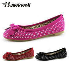 Hawkwell Mary Jane Shoes Ballerina Little girl Slip-on flats Cute Butterfly-knot