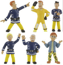 Comansi Fireman Sam Toy Figure Cake Toppers Sam Rescue Penni Elvis Steele Norman