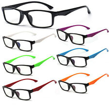 New Unisex Clear Lens 7 Colors Frame Eyewear Fashion Mens  Eyewear Glasses Lot