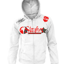 Stryker Fight Gear Full Zip Up Hoodie MMA UFC Boxing wwe FREE Tapout Sticker