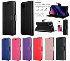 Leather Flip Wallet Slim Case Cover For New iPhone 6 7 8 5 SE Plus