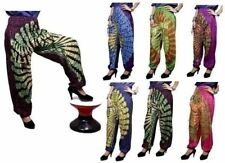 Yoga Trouser Baggy Genie Boho Hippie AUS Casual Indian Rayon Harem Pants