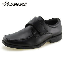 Hawkwell Kids Dress Shoes School Uniform Slip-On Oxford boys girls strap shoes