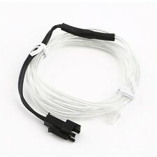 1M Colorful Flexible EL Wire Tube Rope Neon Light Glow Car Party Decor Q#