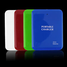 Portable USB 4AA Battery Emergency Charger Power Bank Case  Q#