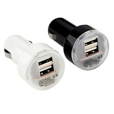 Dual 2 Port USB Car Power Charger Adapter for iPhone6/6PLUS 5S iPod New Q@