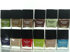 BUTTER LONDON 3 FREE NAIL LACQUER-VERNIS POLISH YOU PICK COLOR. SEALED