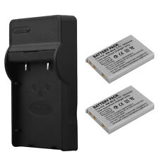 2x EN-EL5 Li-ion Battery+Charger For Nikon Coolpix P90 P100 P500 P510 P520 P5100