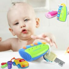 Puzzle Musical Car Key Toy Flash Smart Remote Car Voices Pretend Play Baby Toy