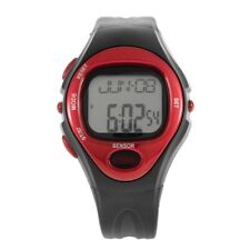 Pulse Heart Rate Monitor Calories Counter Fitness Watch Time Stop Watch Alarm KK