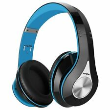 Mpow 059 Wireless Bluetooth Headphone Over-Ear Noise-Cancelling Headset , Blue