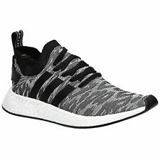 Adidas NMD R2 Primeknit Core Black White Mens Sneakers Boost Technology Trainers