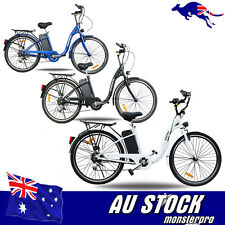 36V 250W PAS PEDAL ASSIST Electric BICYCLE EBIKE E_BIKE LITHIUM Battery 3 Color