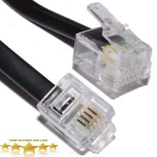 World of Data RJ11 Male BT Broadband ADSL Modem Router Cable Lead Wholesale