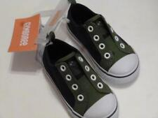 GYMBOREE Dino Day Camp Green/Blue Slip On Shoes Sneakers Sz 4 5 6 8 NEW
