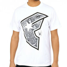 Famous Stars & Straps The Vescovi BOH SS Graphic Tee in White NWT FREE SHIPPING