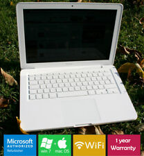Fast Apple Unibody MacBook 2.4Ghz 4GB Ram 320HDD Nvidia Bluetooth Sierra + Win7