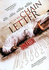 Chain Letter (DVD, 2011) Unrated