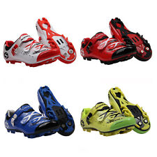 Pro Mens Cycle Road Cycling MTB Mountain Bike SPD Shoes Sport Shoes