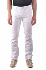 Jacob Cohen Men's Mcbi160101o White Cotton Jeans