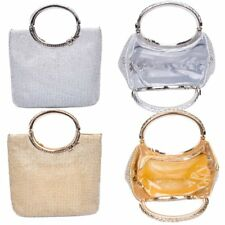 Women Handbag Crystal Rhinestone Evening Party Wed High-end Portable Clutch Bag